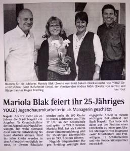 2016Mariola-Dienstjubilaeum